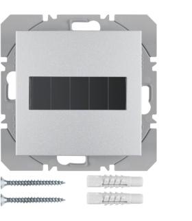B.Kwadrat/B.7 KNX RF Przycisk 1-kr płaski z baterią słoneczną Berker.Net, alu, mat Berker 85655183