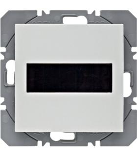 S.1/B.3/B.7 KNX RF Przycisk 1-kr płaski z baterią słoneczną Berker.Net, biały, mat Berker 85655188