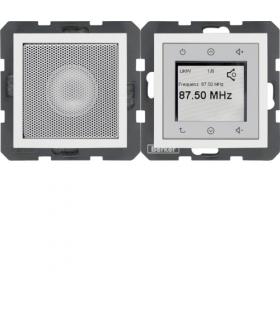 S.1/B.3/B.7 Radio Touch komplet, biały, mat Berker 28809909