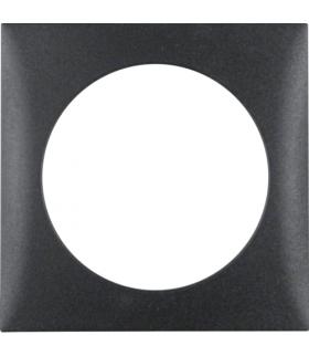 Integro Flow Ramka 1-krotna, antracyt, mat Berker 918272505