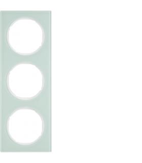 R.3 Ramka 3-krotna, szkło, biały Berker 10132209