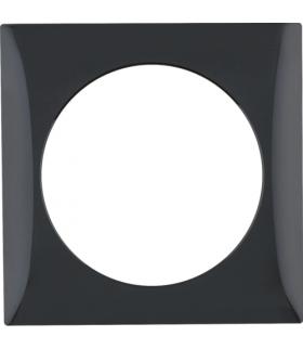Integro Flow Ramka 1-krotna, czarny, połysk Berker 918272510