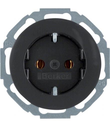 Berker R.classic Ładowarka USB czarny połysk