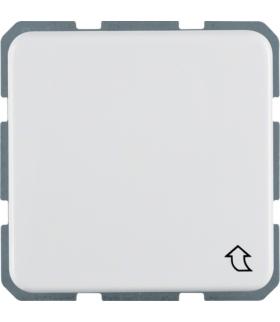 IP44 Gniazdo SCHUKO z pokrywą, biały, p/t Berker 471509