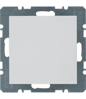 B.x/S.1 Zaślepka z płytką czołową, bez pazurków rozporowych, biały Berker 10098989