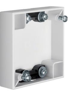 Integro Flow Puszka natynkowa 1-krotna płaska, biały, połysk Berker 911522569