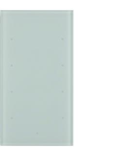 TS Sensor szklany dotykowy 4-krotny, szkło, biały Berker 168400