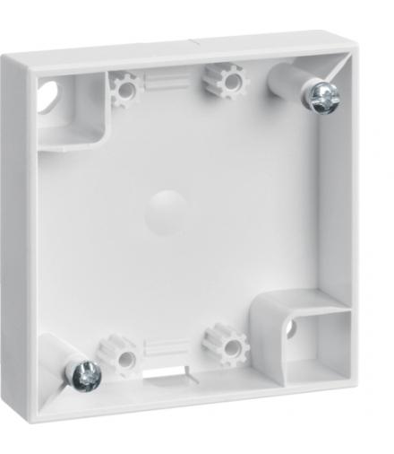 Integro Flow Puszka natynkowa 1-krotna płaska, biały, połysk Berker 911522529