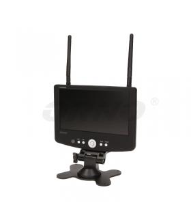 "Monitor- rejestrator 7"" do monitor. bezprzew.CCTV"