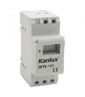 JVT3-16AS Elektroniczny programator czasowy z funkcją astronomiczną Kanlux 18721