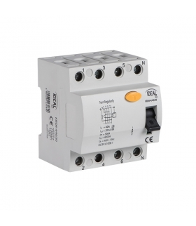KRD6-4/25/30-A Wyłącznik różnicowo-prądowy Kanlux 23191