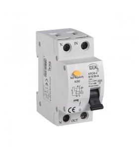 KRO6-2/B10/30 Wyłącznik różnicowo-prądowy z zabezpieczeniem nadmiarowo-prądowym Kanlux 23213