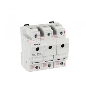 KSF02-63-3P Rozłącznik bezpiecznikowy Kanlux 23343
