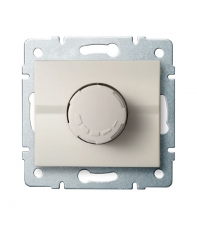 LOGI 02-1160-103 kremowy Ściemniacz obrotowy 500W - z filtrem Kanlux 25142
