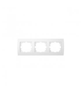 LOGI 02-1480-002 biały Ramka potrójna pozioma Kanlux 25119