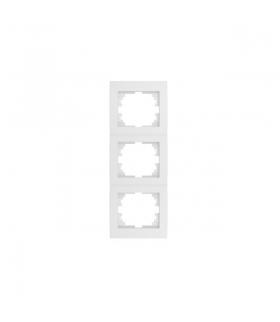LOGI 02-1530-002 biały Ramka potrójna pionowa Kanlux 25123