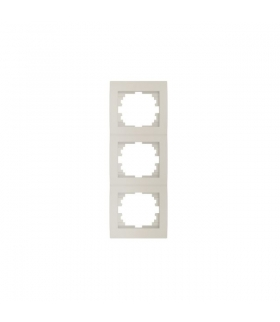 LOGI 02-1530-003 kremowy Ramka potrójna pionowa Kanlux 25182