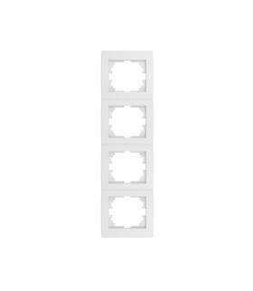 LOGI 02-1540-002 biały Ramka poczwórna pionowa Kanlux 25124