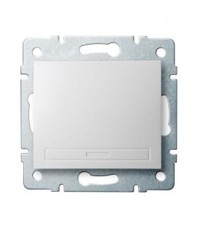 DOMO 01-1000-202 biały Łącznik jednobiegunowy Kanlux 24710