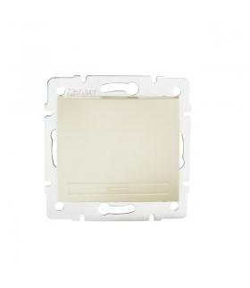 DOMO 01-1000-230 perłowy biały Łącznik jednobiegunowy Kanlux 24947