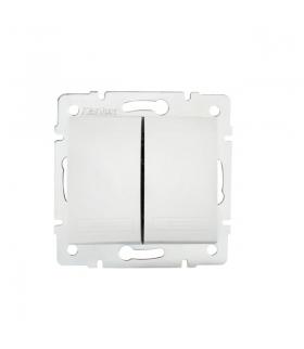 DOMO 01-1022-202 biały Łącznik zwierny podwójny Kanlux 24714