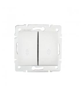 DOMO 01-1060-202 biały Łącznik podwójny, schodowy Kanlux 24718