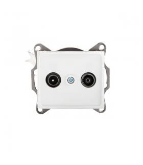 DOMO 01-1330-002 biały Gniazdo RTV końcowe Kanlux 24746