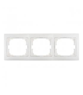 DOMO 01-1480-002 biały Ramka potrójna pozioma Kanlux 24764