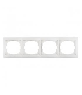 DOMO 01-1490-002 biały Ramka poczwórna, pozioma Kanlux 24765