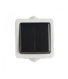 TEKNO 05-1010-143 czarny Łącznik świecznikowy Kanlux 25351