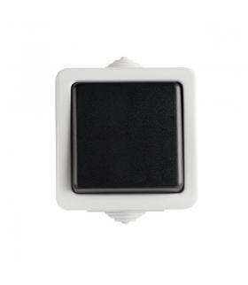 TEKNO 05-1021-143 czarny Łącznik zwierny Kanlux 25350