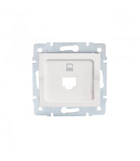 LOGI 02-1399-002 biały Adapter gniazdo komputerowe pojedyncze, (RJ45 Jack), bez gniazda Kanlux 25926