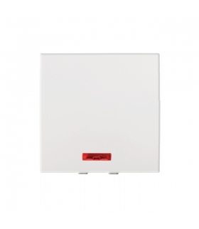 BIURO 04-1115-102 biały Łącznik jednobiegunowy z LED m45 Kanlux 25313