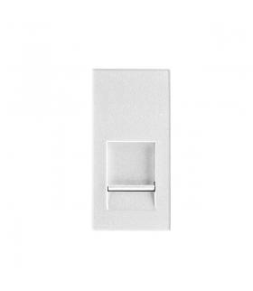 BIURO 04-1400-102 biały Gniazdo komputerowe pojedyncze, (RJ45Cat 6) Kanlux 25333