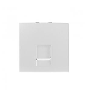 BIURO 04-1405-102 biały Gniazdo komputerowe pojedyncze, (RJ45Cat 5e), m45 Kanlux 25334