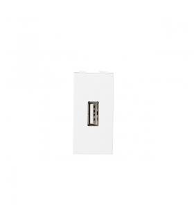 BIURO 04-2020-102 biały Gniazdo USB Kanlux 25339