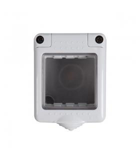 BIURO 04-2030-102 biały Puszka natynkowa 45x45mm, IP55 Kanlux 25345