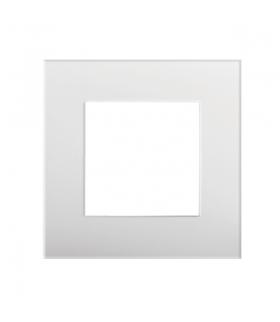 BIURO 04-1460-102 biały Ramka, jednokrotna Kanlux 25340