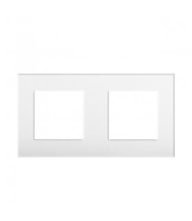 BIURO 04-1470-102 biały Ramka, dwukrotna Kanlux 25341