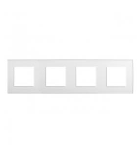 BIURO 04-1490-102 biały Ramka, czterokrotna Kanlux 25343