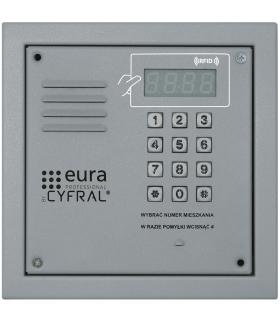 PANEL CYFROWY CYFRAL PC-2000RE srebrny z czytnikiem RFiD i wbudowną elektroniką