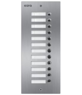 DODATKOWY PANEL DO KASETY ZEWNĘTRZNEJ MODUŁOWEJ EURA VXA-59A5 2EASY+ 12 przycisków