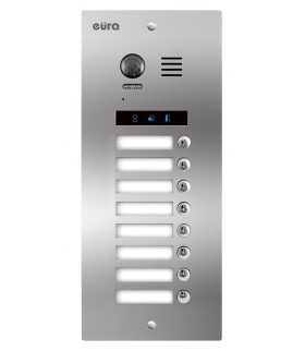 KASETA ZEWNĘTRZNA MODUŁOWA EURA VDA-98A5 2EASY+ 8 przycisków