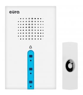 DZWONEK BEZPRZEWODOWY EURA WDP-32A3 LIBRETTO możliwość rozbudowy zasilanie bateryjne