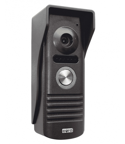 KASETA ZEWNĘTRZNA WIDEODOMOFONU EURA VDA-10A3 EURA CONNECT - jednorodzinna, grafit, światło podczerwone