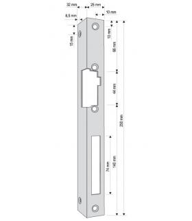 KĄTOWNIK DO RYGLA (ELEKTROZACZEPU) KR-03G2 prawy długi