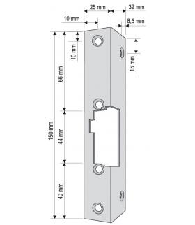 KĄTOWNIK DO RYGLA (ELEKTROZACZEPU) KR-05G2 krótki
