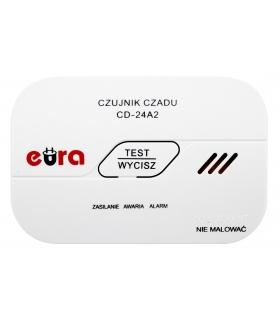 Czujnik czadu Eura CD-24A2 - bateryjny, 7 lat gwarancji