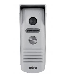 KASETA ZEWNĘTRZNA WIDEODOMOFONU EURA VDA-14A3  EURA CONNECT - jednorodzinna, szary, światło białe