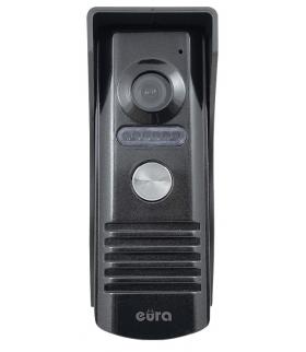 KASETA ZEWNĘTRZNA WIDEODOMOFONU EURA VDA-11A3 EURA CONNECT - jednorodzinna, grafit, światło białe